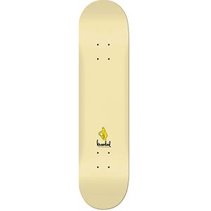 Krooked Ikons Skateboard Deck Banana Cream 8.5