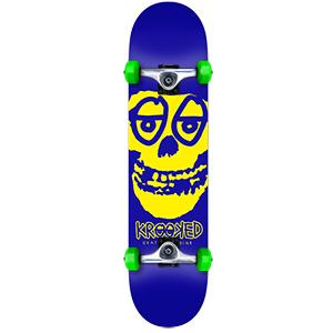 Krooked Krimson Medium Complete Skateboard 7.75