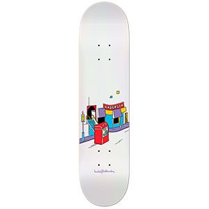 Krooked Manderson Domestic Issues Skateboard Deck 8125