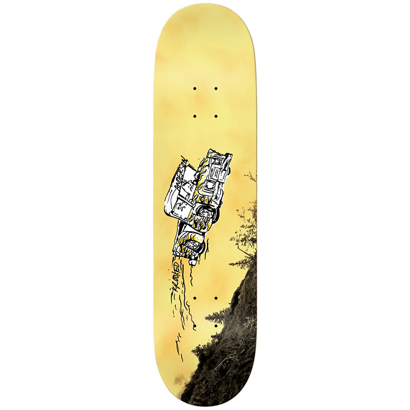 Krooked Manderson Fifty Yards Skateboard Deck 8.5