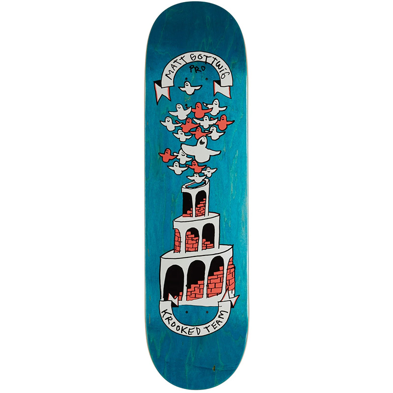 Krooked Matt Gotwig Skateboard Deck 8.25
