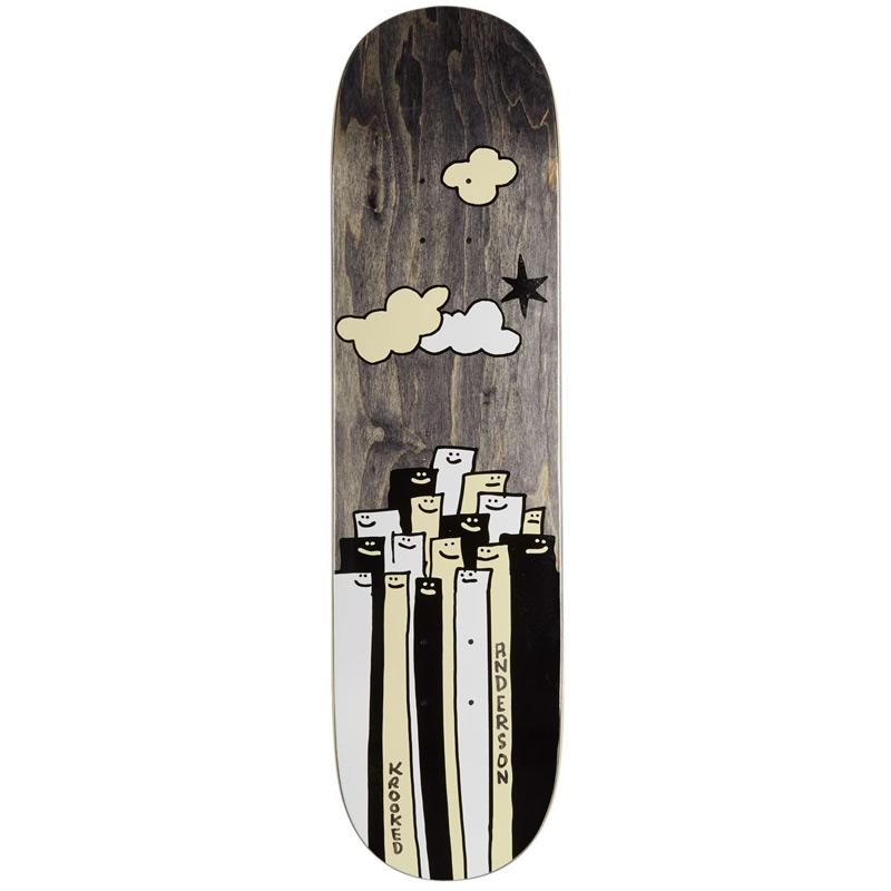 Krooked Mike Anderson Gathering Skateboard Deck 8.12