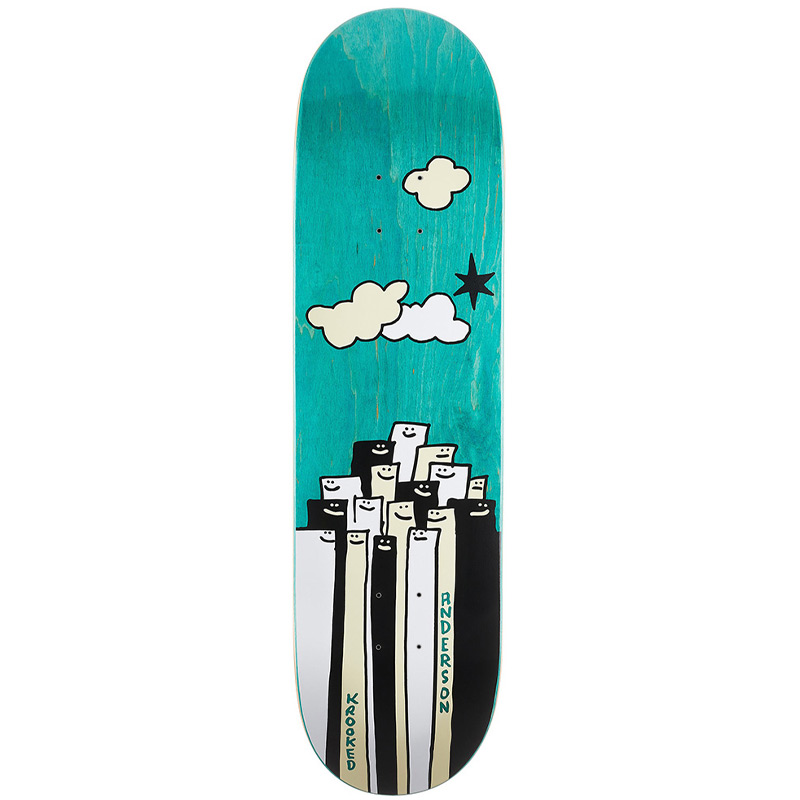 Krooked Mike Anderson Gathering Skateboard Deck 8.38