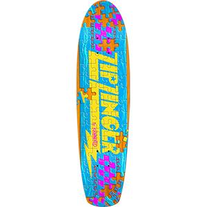 Krooked Piece Out Zinger Skateboard Deck 7.5