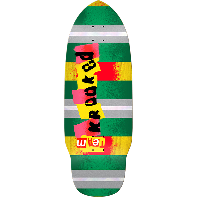 Krooked Rat Stick Skateboard Deck 10.2