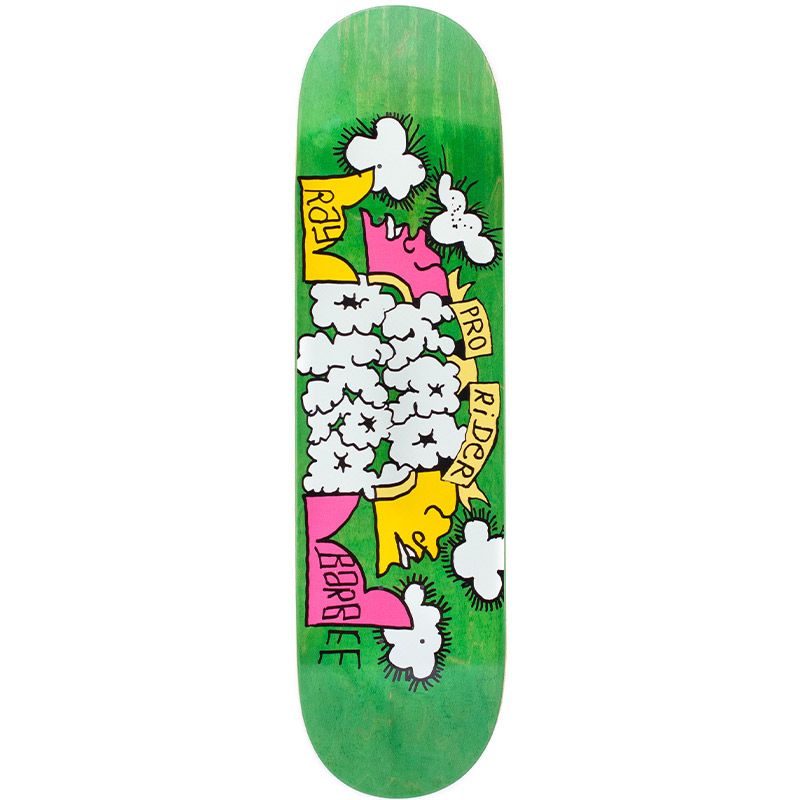 Krooked Ray Barbee Clouds Skateboard Deck 8.25
