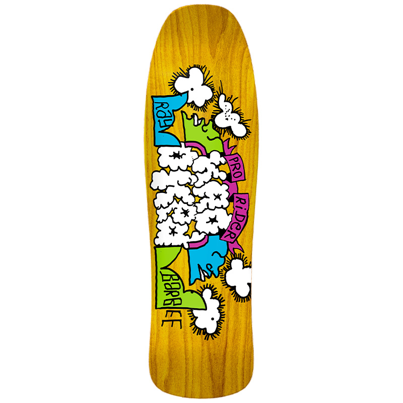 Krooked Ray Barbee Clouds Skateboard Deck 9.5