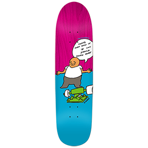 Krooked Ronnie How It Is Skateboard Deck 8.5