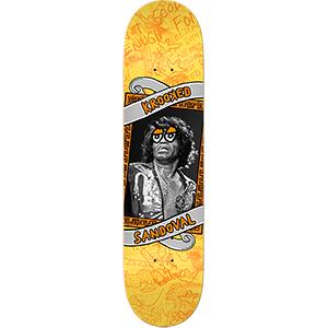 Krooked Ronnie P Krisis3 Skateboard Deck 8.5
