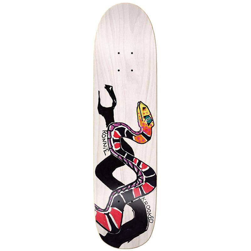 Krooked Ronnie Piethon Skateboard Deck 8.25