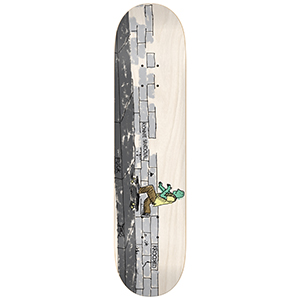 Krooked Ronnie Sandoval Where The Side Walk Ends Skateboard Deck 8.38