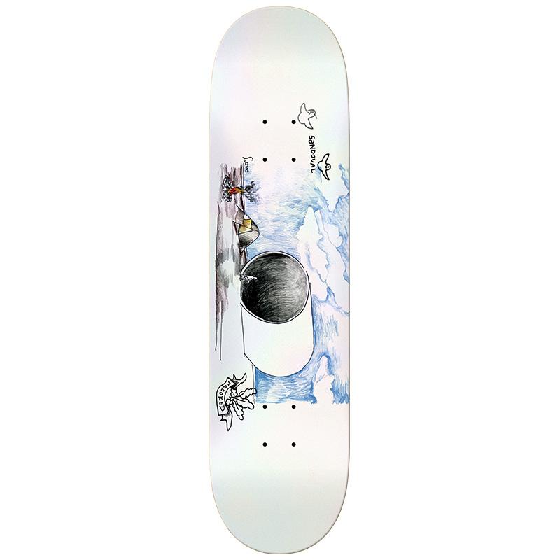Krooked Sandoval Fullpipe Skateboard Deck 8.62