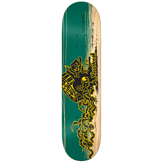 Krooked Sebo Bearinghead Skateboard Deck 8.25