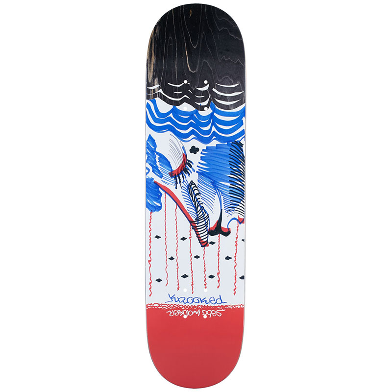 Krooked Sebo Lady Liberty Skateboard Deck 8.06