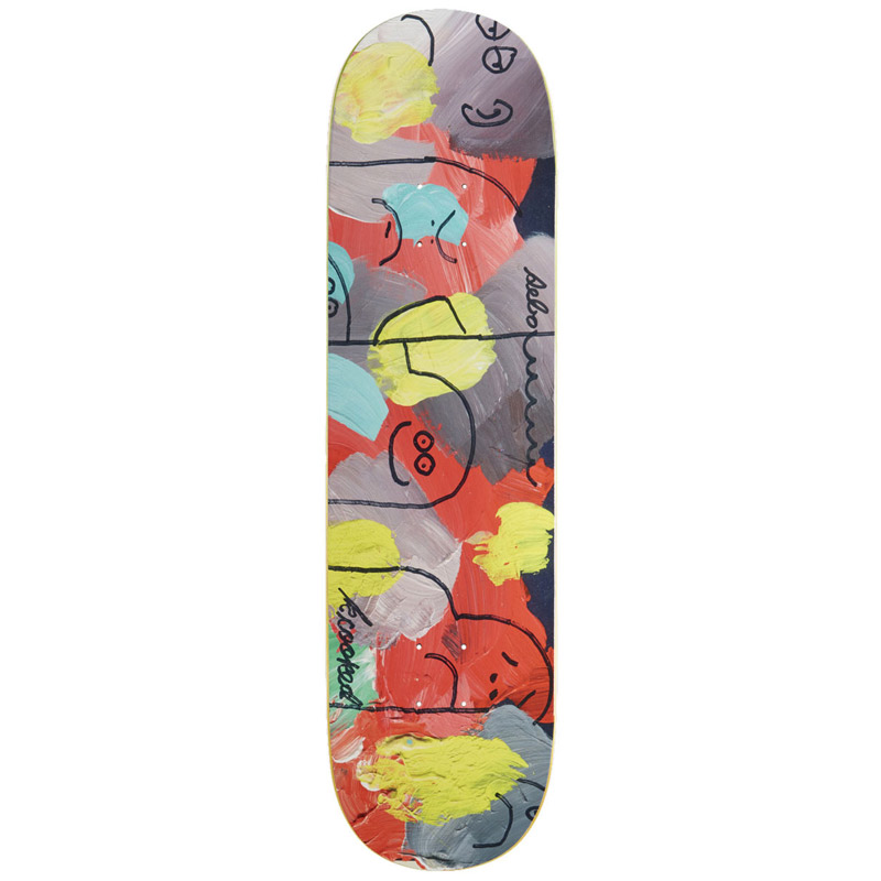 Krooked Sebo Posse Full Shape Skateboard Deck 8.38