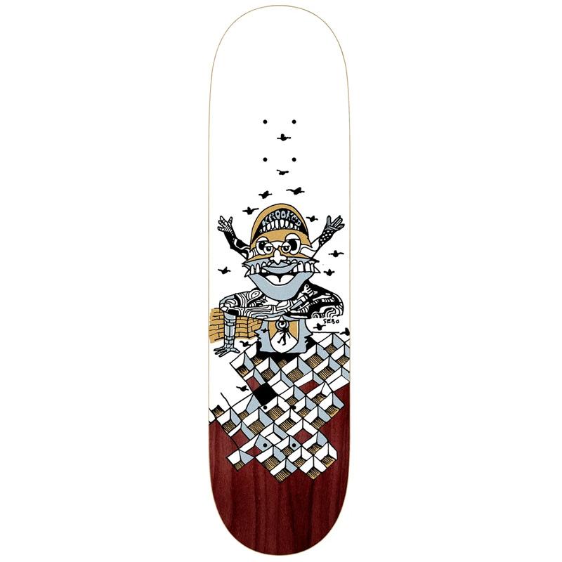 Krooked Sebo Puppet Skateboard Deck 8.06
