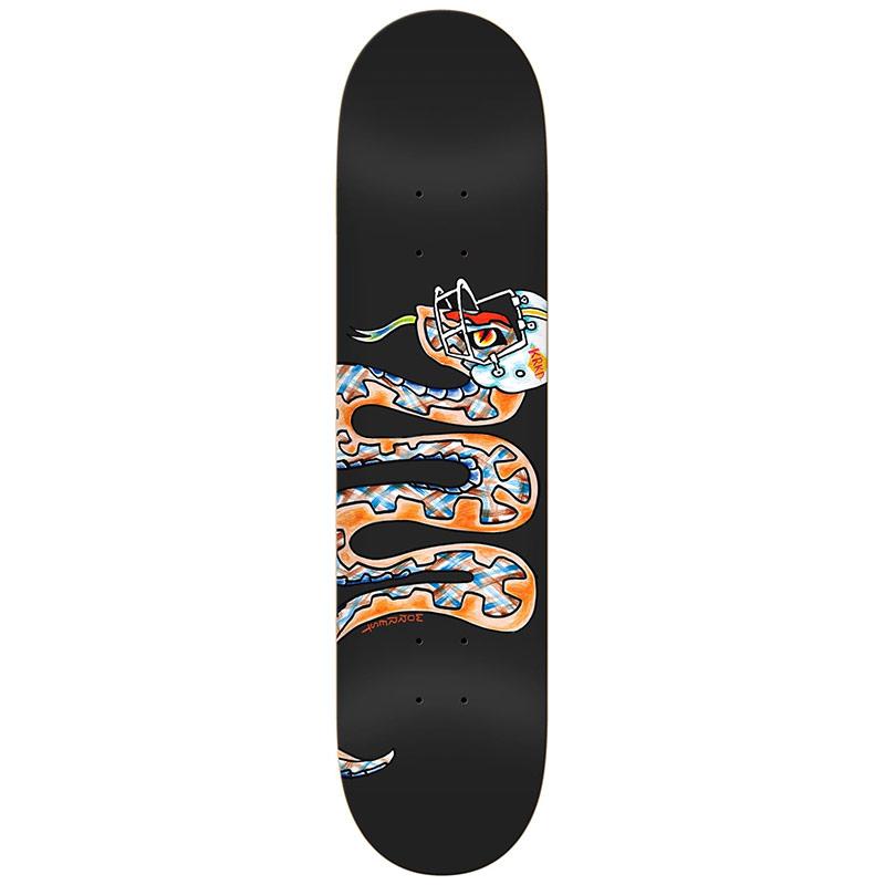 Krooked Worrest MVP Skateboard Deck 8.12