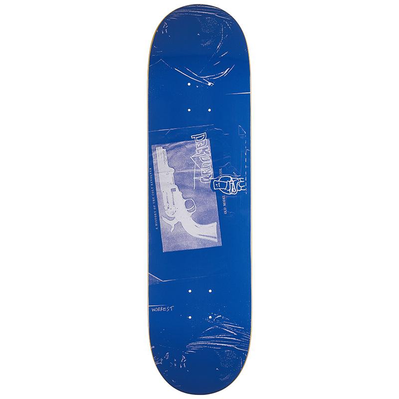 Krooked Worrest Revolver Skateboard Deck 8.38