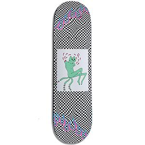 Leon Karssen Checkerboard Heartpress Skateboard Deck 8.375