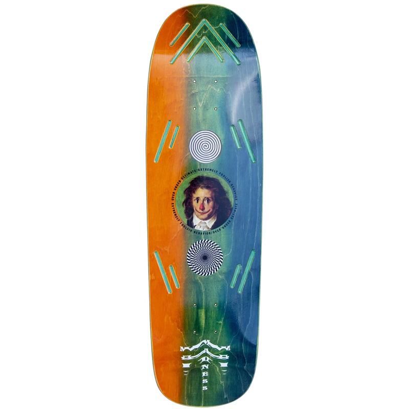 Madness Clown Smear R7 Skateboard Deck Lenticular 9.125