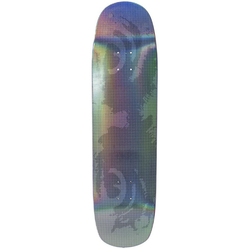Madness Dead Stare Skateboard Deck Holographic Black 8.375