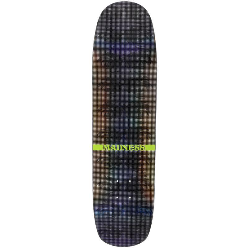 Madness Eye Dot R7 Skateboard Deck Holographic 8.375