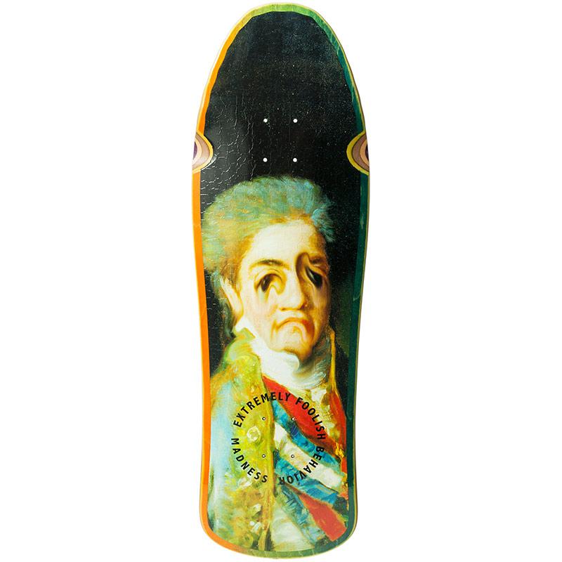 Madness Face Melt R7 Skateboard Deck 9.875