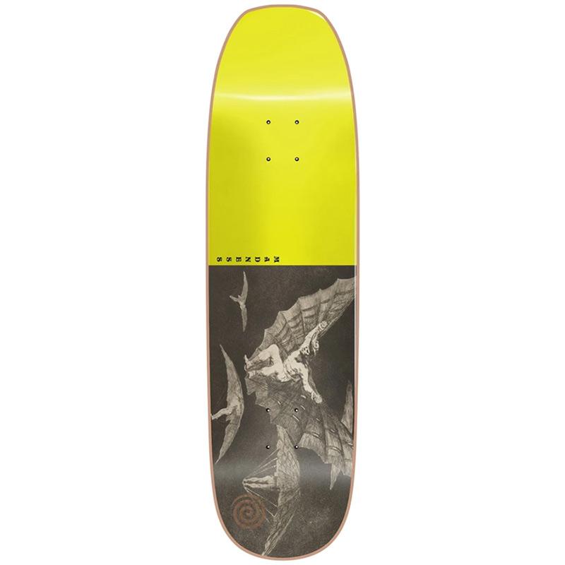 Madness Flight R7 Skateboard Deck Neon Yellow 8.75