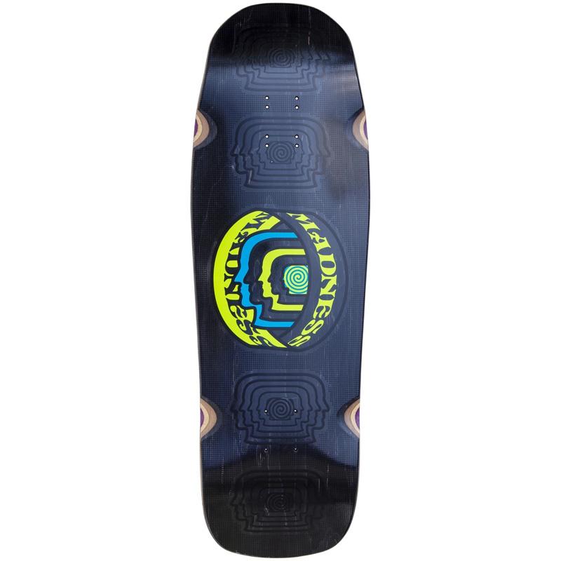 Madness Head Blunt R7 Skateboard Deck Black 10.0