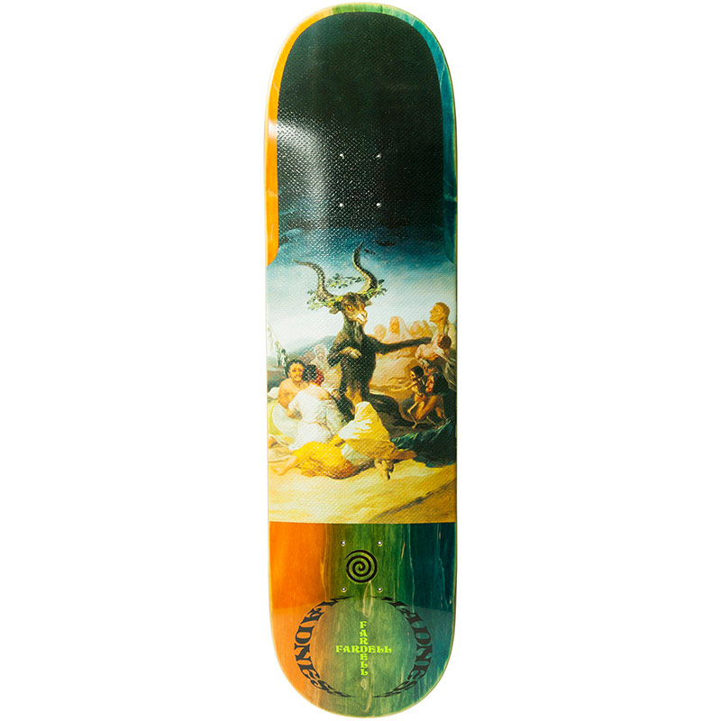 Madness Jack Fardell Great Goat R7 Skateboard Deck 8.5
