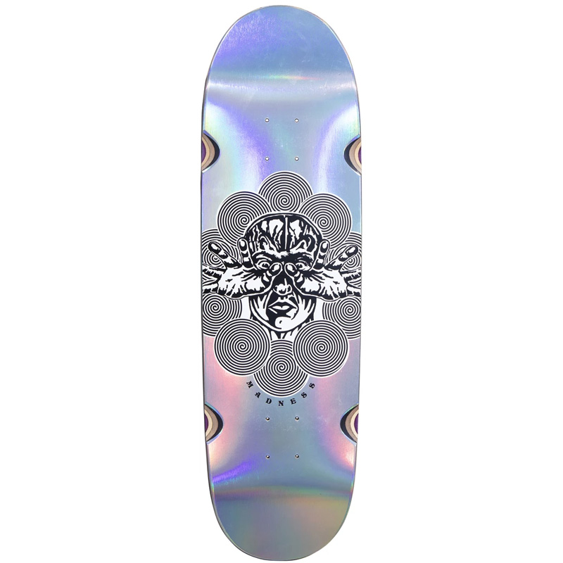 Madness Manipulate R7 Skateboard Deck Holographic 9.0