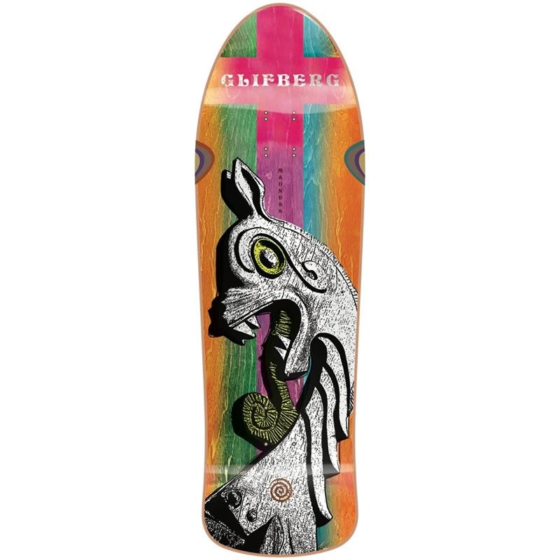 Madness Rune Glifberg Destroyer R7 Skateboard Deck 9.75