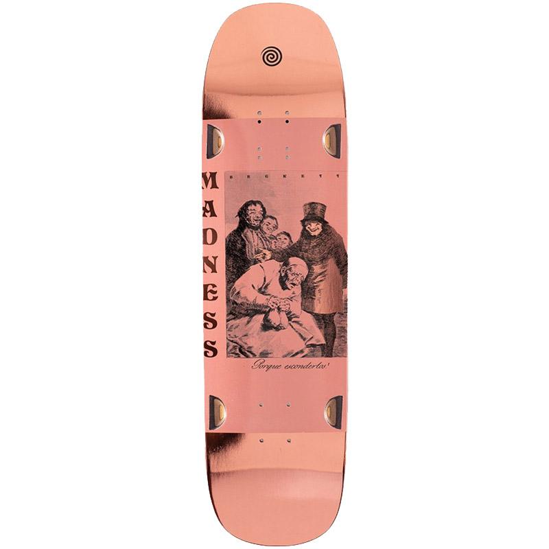 Madness Sam Becket Porque R7 Skateboard Deck Bronze 8.75
