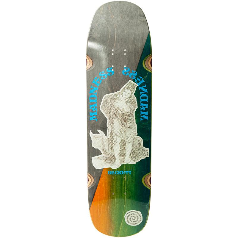 Madness Sam Beckett Ox R7 Skateboard Deck 8.75