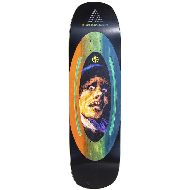 Madness Sam Face Plant Impact Light Skateboard Deck 8.75