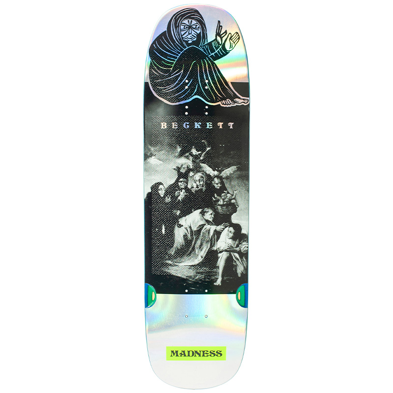 Madness Sam Spell Bound Impact Light Skateboard Deck Holographic 8.75