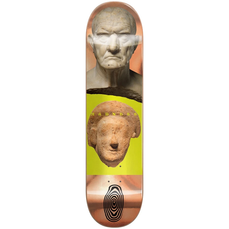 Madness Stoned R7 Popsicle Skateboard Deck Bronze 9.0