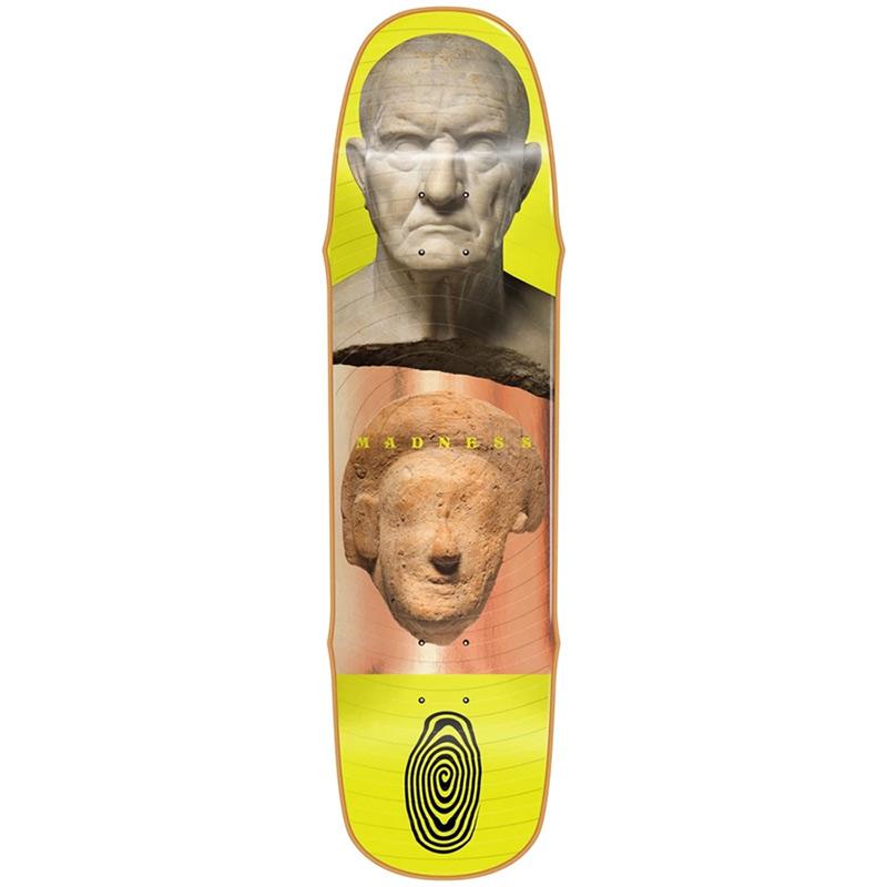 Madness Stoned R7 Skateboard Deck Bronze 8.5