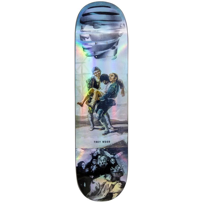 Madness Trey Blackout R7 Skateboard Deck Holographic 8.25