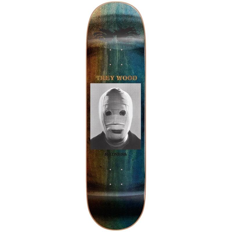 Madness Trey Wood Bandage R7 Skateboard Deck 8.25