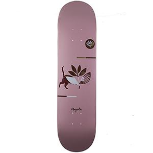 Magenta Cat Medium Skateboard Deck 8.0