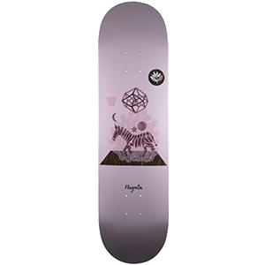 Magenta Glen Fox Perception Skateboard Deck 8.125