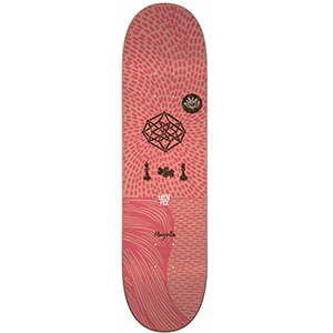 Magenta Glen Fox Skateboard Deck 7.875