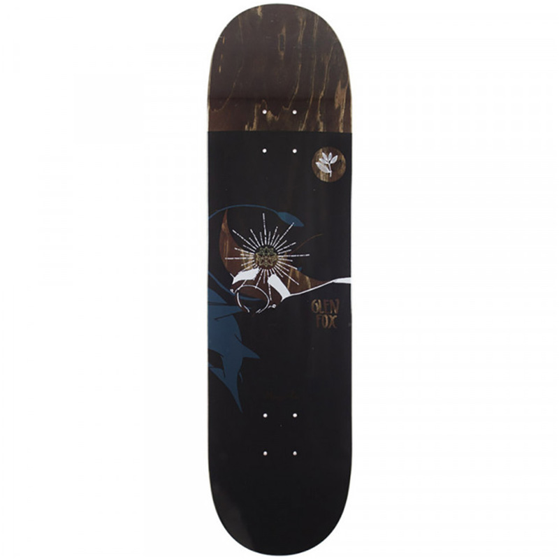 Magenta Glen Fox Skateboard Deck 8.125