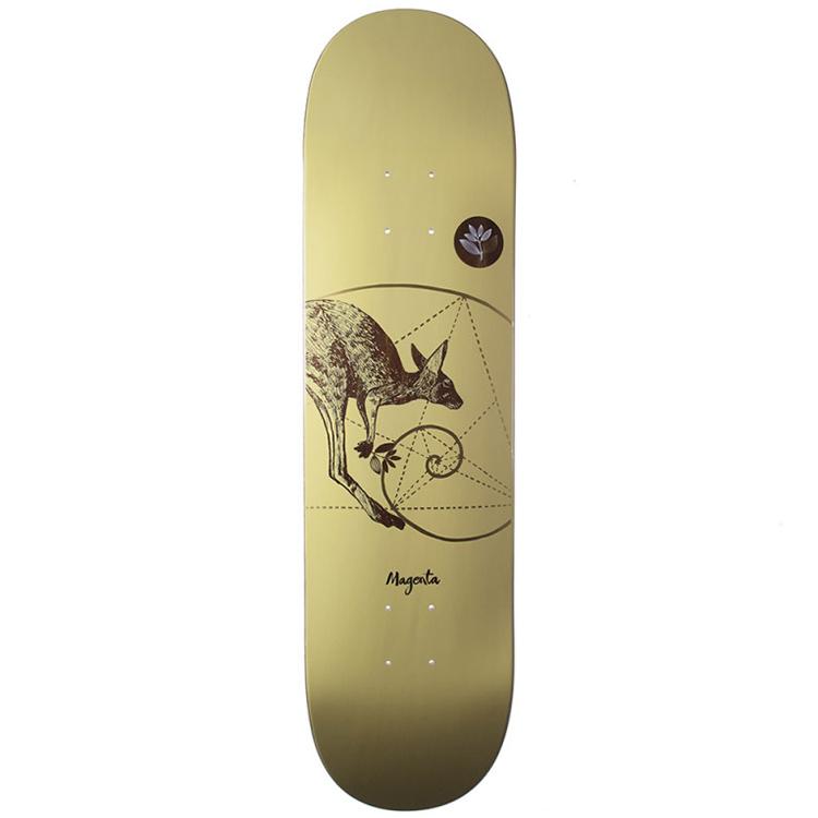 Magenta Kangeroo Medium Skateboard Deck 8.0