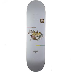 Magenta Zebra Medium Skateboard Deck 8.125