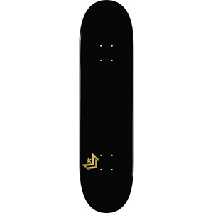 Mini Logo Chevron Black Skateboard Deck 8.0