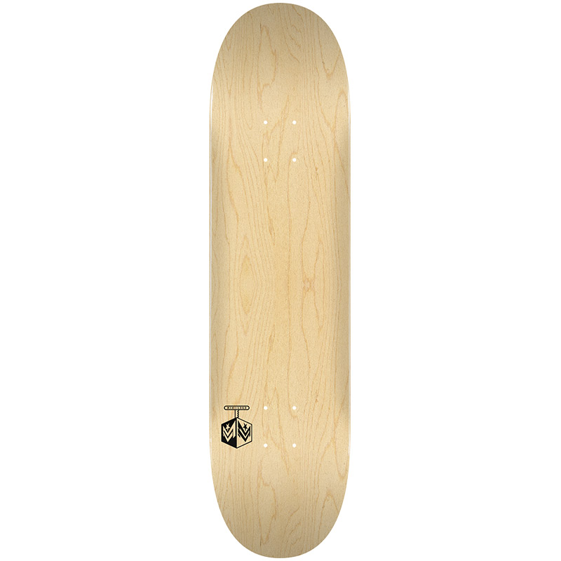 Mini Logo Chevron Detonator 15 Birch Skateboard Deck Natural Shape 242 8.0