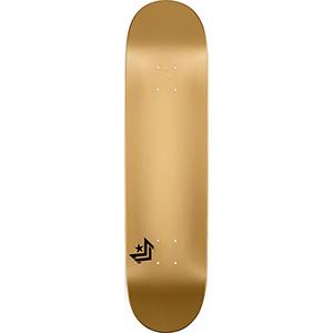 Mini Logo Chevron Skateboard Deck Gold 7.75