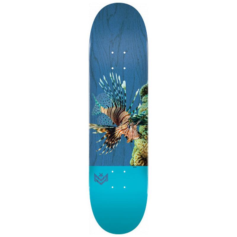 Mini Logo Poison Lion Fish 16 Birch Skateboard Deck Shape 242 8.0